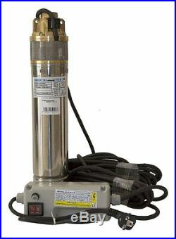 4PN20 Submersible Pump for Clean Water, 61m head Well, Tank or Borehole