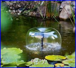 50 W Solar Pond Pump Garden Pond Dive Filter Water Element Pump Set Fountain