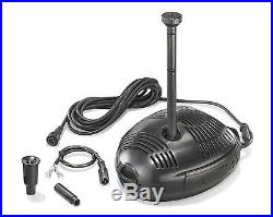 50 W Solar Pond Pump Water Element Submersible Fountain