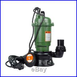 500w Heavy Duty Submersible Electric Waste Dirty Pond Flood Sewage Water Pump