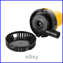 50w Submersible Dirty Water Pump With Float Switch 2 Clips 1 Instruction Manual
