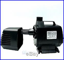 6,000 L/h In-line Immersible Aquatic Water Pump For Fish Pond Fountain