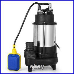 750W Heavy Duty Garden Pond Submersible Sewage Dirty Waste Water Pump