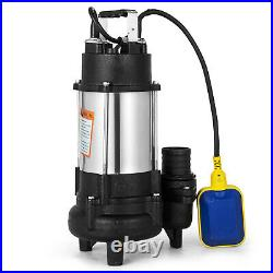 750w Heavy Duty Submersible Electric Clean Dirty Pond Flood Sewage Water Pump