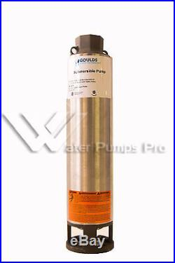 75GS100 Goulds 4 Submersible Water Well Pump End Only 75GPM 10HP Motor Required