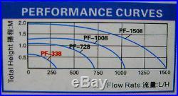 79GPH FISH Submersible PUMP AQUARIUM POWERHEAD 300 POND