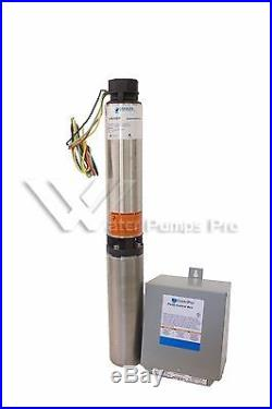7SB05411C Goulds 7GPM 1/2HP 4 Submersible Water Well Pump and Motor 3 Wire 115V
