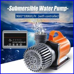 9000-18000 L/H Aquarium Fish Tank Submersible Water Pump Adjustable US CA3