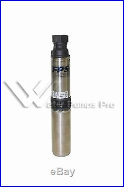 95402045 Franklin 4 Submersible Water Well Pump 20GPM 1HP 230V 3 Wire