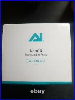 AI NERO 3 Submersible Pump Circulation Marine Reef Aquarium Fish Tank
