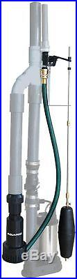AquaPro Submersible Emergency Battery Backup Sump Pump Water-Powered New