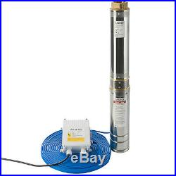 Arebos Deep Well Pump Submersible Water Pump 1.5 hp