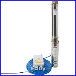 Arebos Deep Well Pump Submersible Water Pump 3 hp