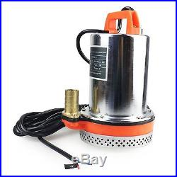 BACOENG DC 12V Farm & Ranch Solar Powered Submersible Water Well Pump 26FT Lift