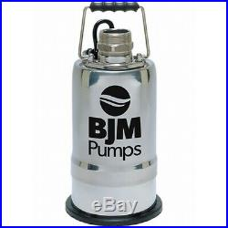 BJM Mop-Up Water Pump R400D-115 2-inch Discharge Pumps Down to 1/12 of an Inch