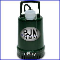 BJM R-100 Little Bullet Submersible Water Pump 21 GPM