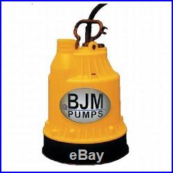 BJM Submersible 12 Volt Water Pump 1500 GPH 12524