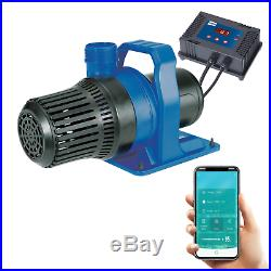 Bermuda 10000 Wifi Control Pond Filter Pump Water Feature Dry Mount Submersible