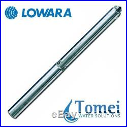 Borehole deep well submersible water pump 4GS11M-4OS 1,1kW 1x240V 50Hz Lowara