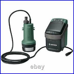 Bosch Cordless Submersible Pump GardenPump 18 without battery, 18 Volt System