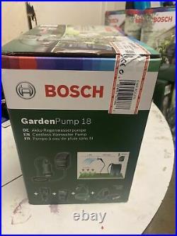 Bosch Gardenpump 18 18V 2.5Ah Li-Ion Cordless Garden Pump Kit fast delivery