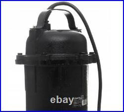 Cesspool Sewage Dirty Water Deep Well Septic Sump Pump + Grinder 3200W 25000L/h
