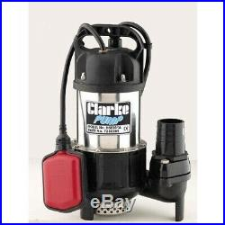 Clarke 2 (50Mm) Industrial Submersible Water Pump With Float Switch (110V)