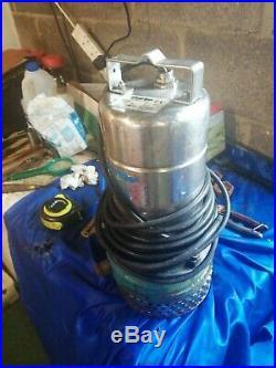 Clarke 2 Submersible Water Pump Gse 2 110 Gal Per Min + 18 Foot Pipe