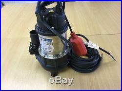 Clarke HSE301A 7230265 2 110v IP68 10 Metre Submersible Water Pump With Float