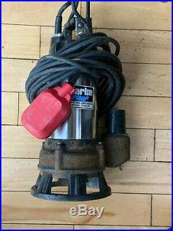 Clarke HSEC650A 2 Inch Industrial Submersible Dirty Water Cutter Pump