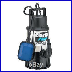 Clarke PSD1A Stainless Steel Clean Water Submersible Pump. 800 Watt, Head 30m