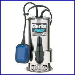 Clarke Submersible Dirty Water Pump Float Switch 230v 258 Litre Per Min 7236060