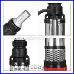 DC 12V/24V/48V 550W 5 m³/h Flow Submersible Water Pump Deep Well Pump Irrigation