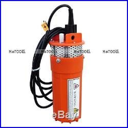 DC 12V Solar Energy Submersible Deep Well Water Pump with 3m(10 ft) Cable