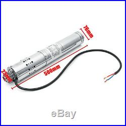 DC 24V 2000L/H MPPT Farm&Ranch Solar Power Submersible Bore Deep Well Water