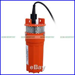 DC 24V Submersible Deep Well Pump Solar DC Battery Driven for Garden Watering