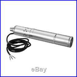 DC 36V Brushless Solar Deep Well Submersible Pump 3 Inch 400W Screw Water Pump
