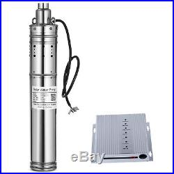 DC24V Brushless Solar Screw Deep Well Submersible Water Pump 340W, 131.2FT Max