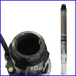 DEEP SUB WELL SUBMERSIBLE PUMP 1.5HP STAINLESS STEEL BODY WATER UNDERWATER 33GPM