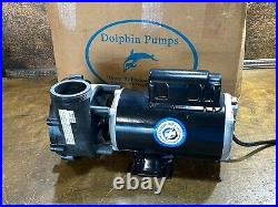DOLPHIN 12500 GPH Water PUMP for Aquaculture Hydroponic Aquaponic Systems 1.5 HP