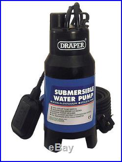 DRAPER 235L/Min 700W 230V Submersible Dirty Water Pump with 8.5M Lift and Float