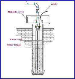Deep Well Water Pump Deep Well Screw Pump Well Pump Submersible 1inch