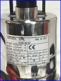 Dirty/clean Water Submersible Pump part Stainless Steel, Sump, Cellar pump