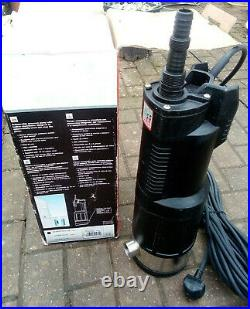 Divertron x 1200 Submersible Water Pump and float