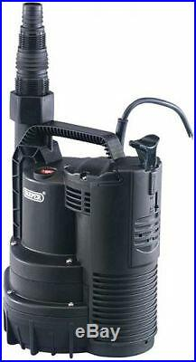 Draper 195l/min (max.) 600w 230v Submersible Water Pump With Integral Float S