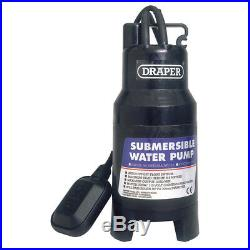 Draper 235L/Min 700W 110V Submersible Dirty/Clean Water Pump with Float Switch
