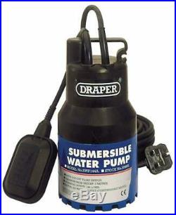 Draper 35465 144-Litres-per-Minute 350-Watt 230-Volt Submersible Water Pump with
