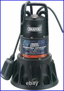 Draper 69690 230-Volt 1000w Submersible Dirty Water Pump with Float Switch