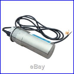 ECO-WORTHY 24V DC Stainless Steel Solar Powered Submersible Water Well Pump Lift