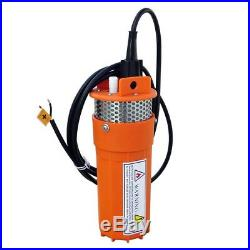 ECO-WORTHY DC 12V Solar Energy Submersible Deep Well Water Pump with 3m(10 ft) C